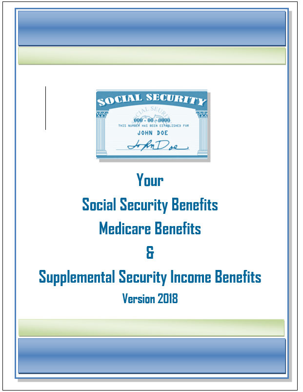 Picture and Link of Your Social Security Benefits eBook